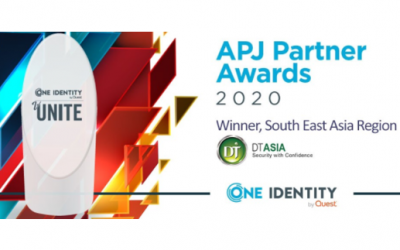 DT Asia wins One Identity APJ Partner Award 2020